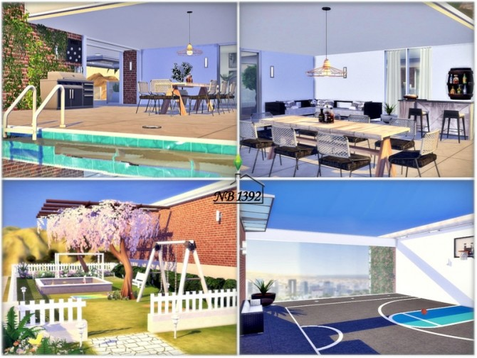 Sims 4 Total Luxury home by nobody1392 at TSR