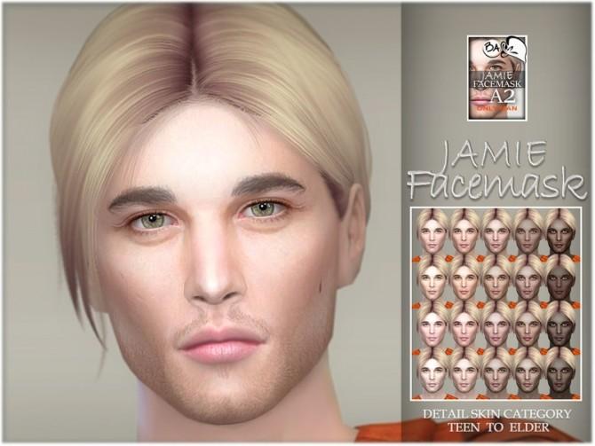 Sims 4 Jamie facemask by BAkalia at TSR