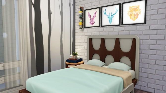 Sims 4 TINY MODERN UNDERGROUND HOUSE at Aveline Sims