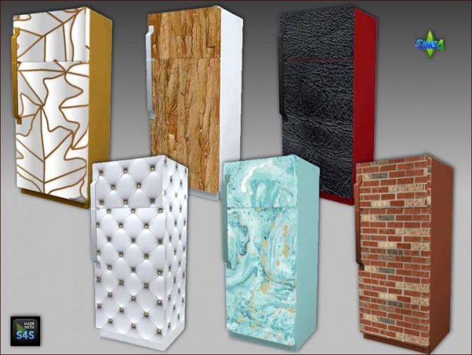 Fridge recolors by Mabra at Arte Della Vita image 1231 670x503 Sims 4 Updates