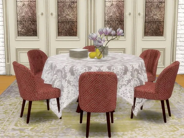 Modern house by Simmy + dining chair by Oldbox at All 4 Sims image 12320 Sims 4 Updates