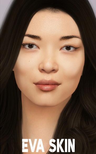 Sims 4 Eva Skin by thisisthem at TSR