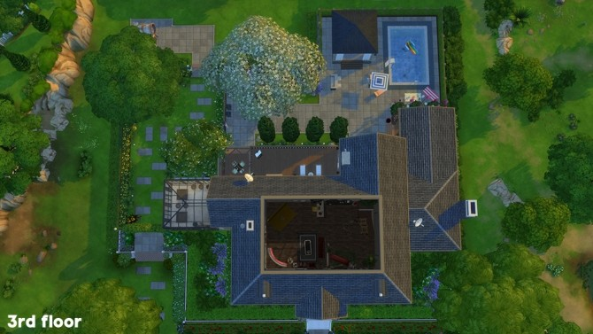 Sims 4 The Oakstand home at Joliebean