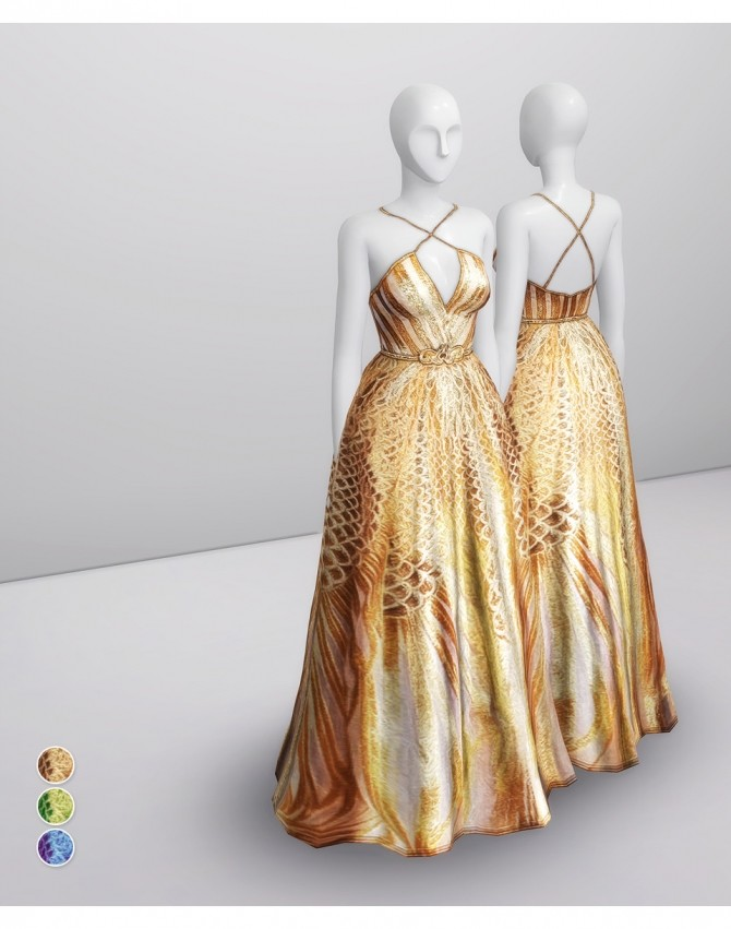 SS 2020 Couture Collection I  2 dress at Rusty Nail image 1249 670x851 Sims 4 Updates