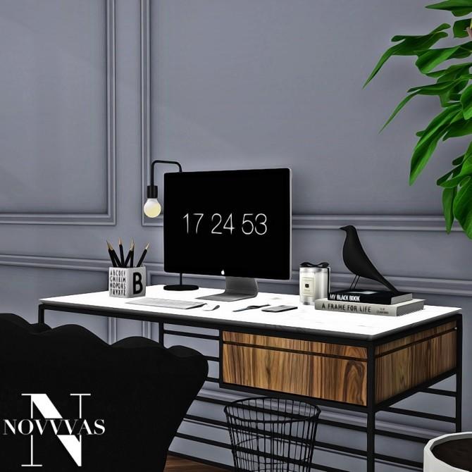 Sims 4 PEARL FURNITURE SET at Novvvas