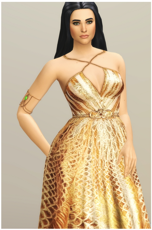 SS 2020 Couture Collection I  2 dress at Rusty Nail image 1268 Sims 4 Updates