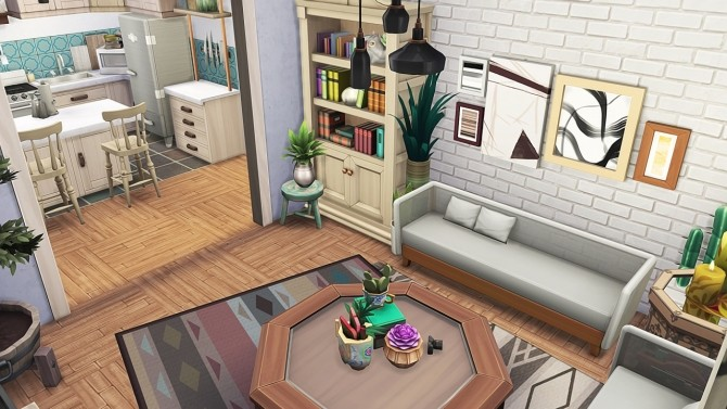 CRAZY PLANT LADY APARTMENT at Aveline Sims » Sims 4 Updates