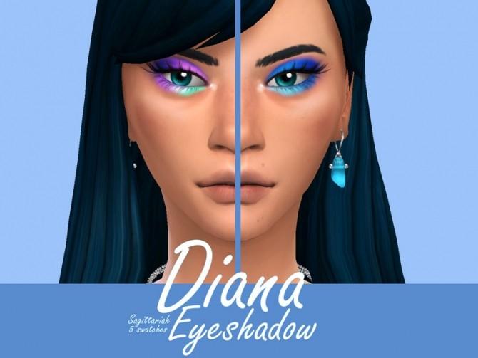 Sims 4 Diana Eyeshadow by Sagittariah at TSR