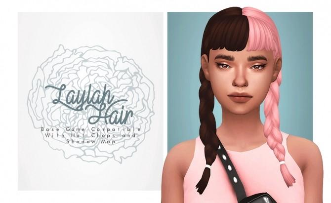 Sims 4 Laylah Hair at Isjao