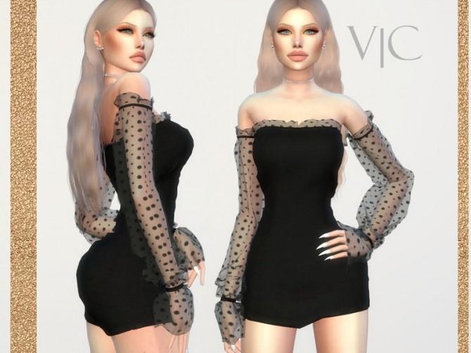 Sims 4 DRESS 22Y III by Viy Sims at TSR