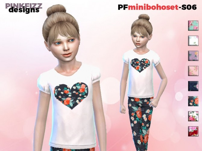 Mini Boho Set S06 by Pinkfizzzzz at TSR image 1317 670x503 Sims 4 Updates