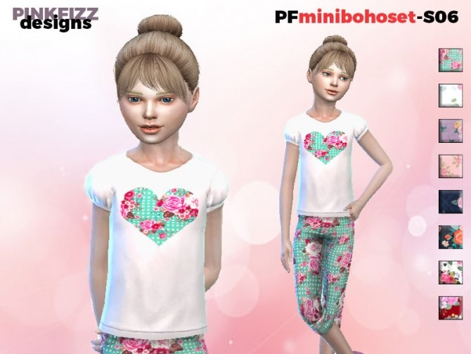 Mini Boho Set S06 by Pinkfizzzzz at TSR image 1323 670x503 Sims 4 Updates