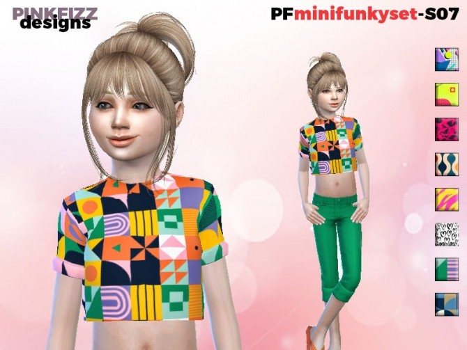Sims 4 Mini Funky Set S07 by Pinkfizzzzz at TSR