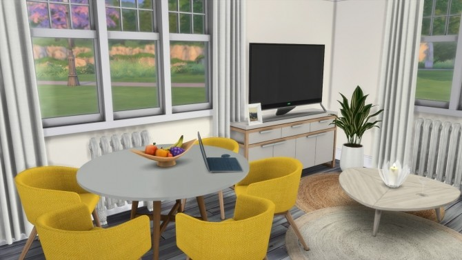 Sims 4 PEACEMAKER IC STUDIO APARTMENT at MODELSIMS4