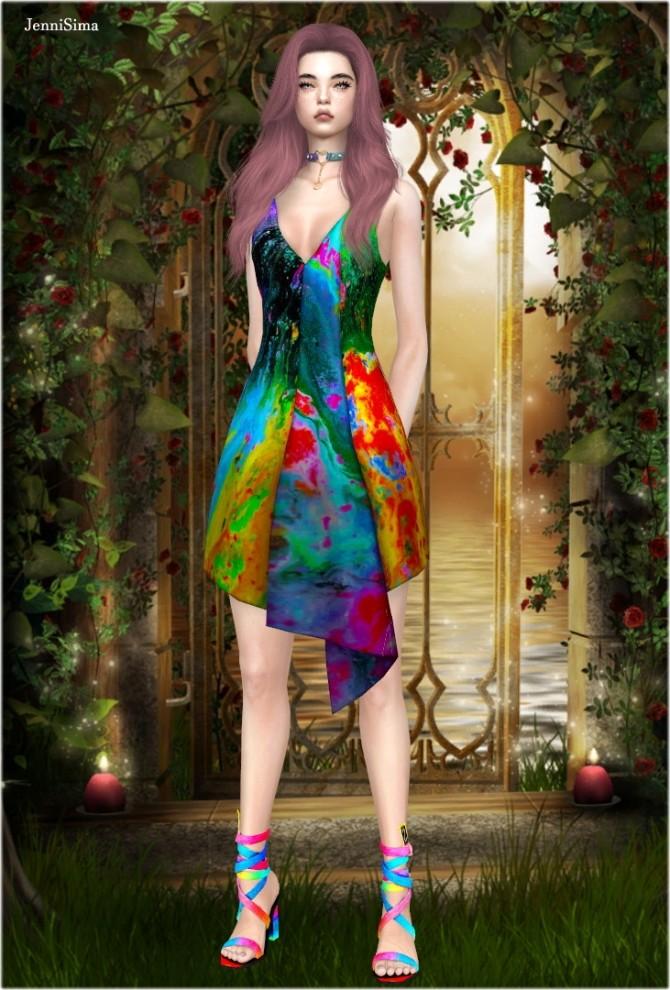 Sims 4 Base Game Dress at Jenni Sims