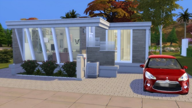 Sims 4 CUTEST CLUTTER HOUSE at Dinha Gamer