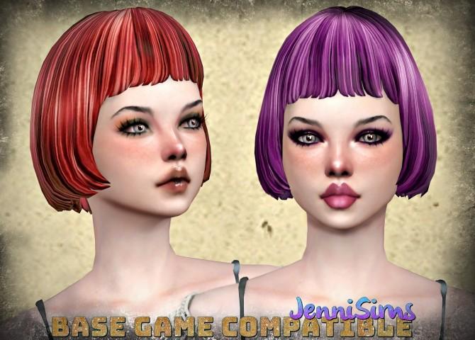 Sims 4 EA HAIR RETEXTURE 15 Colors at Jenni Sims