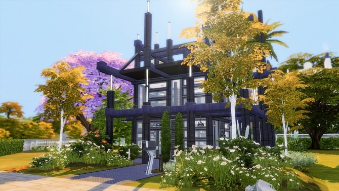 Sims 4 ProtoProuvette 001 house at Fezet