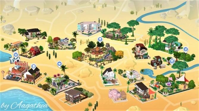 Sims 4 Oasis Springs World Save File at Agathea k
