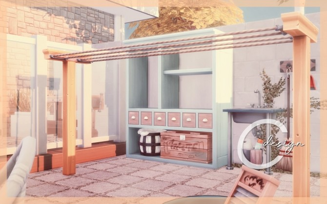 Bebe home by Praline at Cross Design image 13716 670x419 Sims 4 Updates