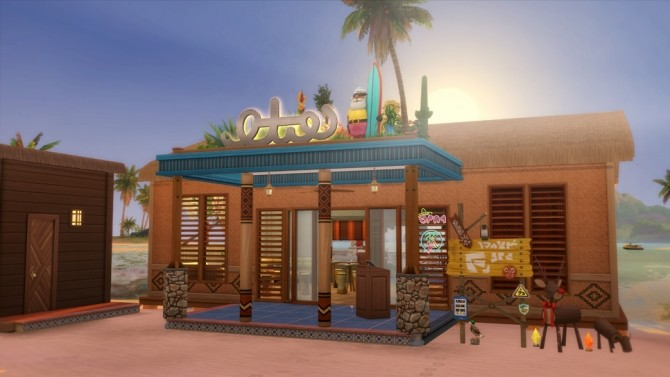 Tom's Lab Restaurant at Rusty Nail image 1382 670x377 Sims 4 Updates