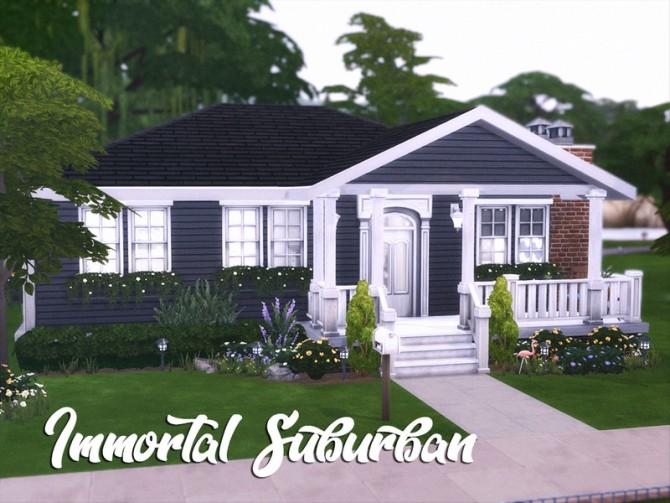 Immortal Suburban by xogerardine at TSR image 1390 670x503 Sims 4 Updates