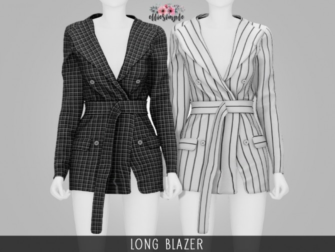 Clothes CC's Pack 2 at Elliesimple image 13919 670x503 Sims 4 Updates