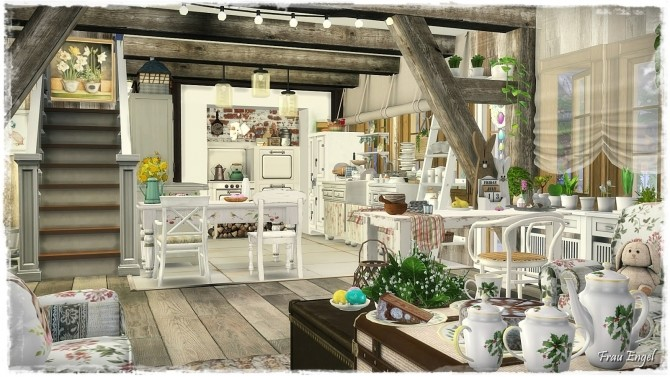 Lair des champs cottage at Frau Engel image 1396 670x377 Sims 4 Updates
