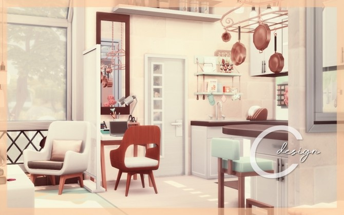 Bebe home by Praline at Cross Design image 14016 670x419 Sims 4 Updates