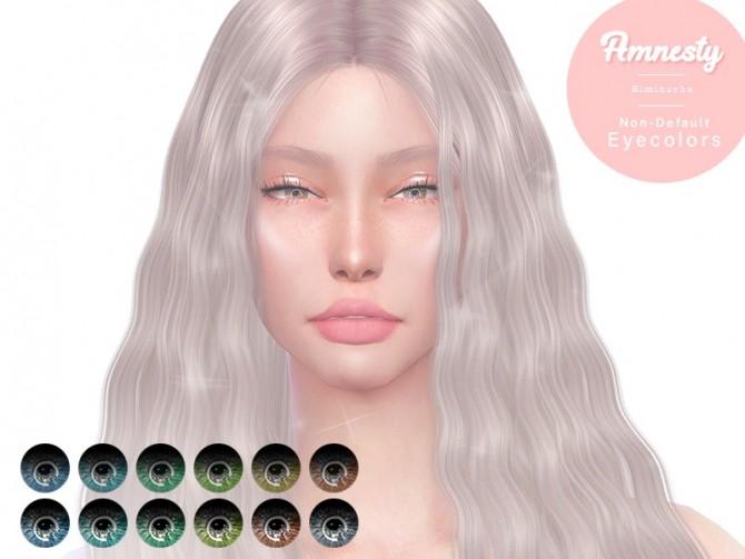 Sims 4 Amnesty Non Default Eye Color at Kiminachu CC