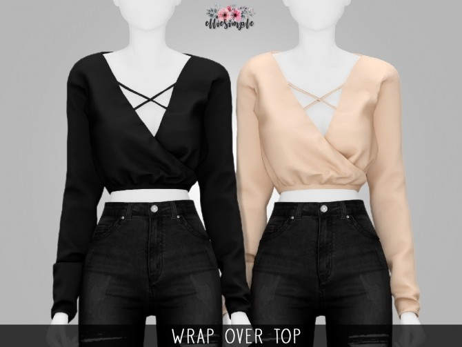 Clothes CC's Pack 2 at Elliesimple image 14318 670x503 Sims 4 Updates
