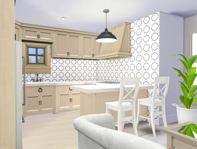 The Compact Craftsman house at SimPlistic image 14610 670x509 Sims 4 Updates