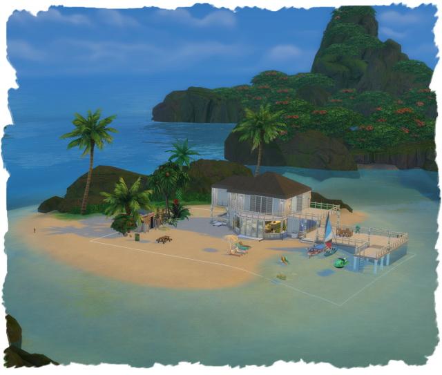 Chalipo Island at All 4 Sims image 1463 Sims 4 Updates