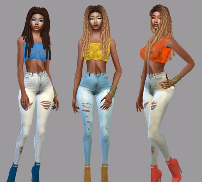 Sims 4 Skinny Jeans Cuts at Teenageeaglerunner