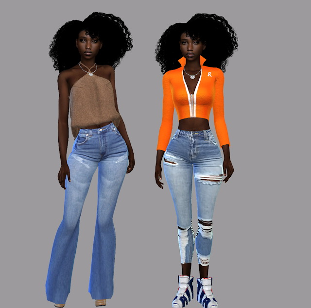 Sims 4 For the Summer Jeans Pack at Teenageeaglerunner