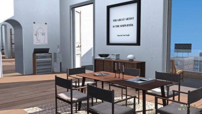 The Ecceentric Art apartment at Milja Maison image 14714 670x377 Sims 4 Updates