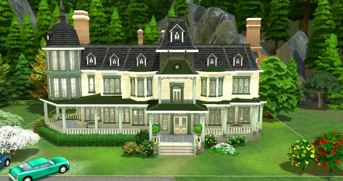 Locke & Keys manor by valbreizh at Mod The Sims image 1472 670x353 Sims 4 Updates