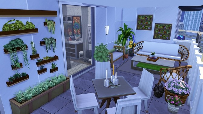 Sims 4 TUMBLR ROOMMATES APARTMENT at Aveline Sims