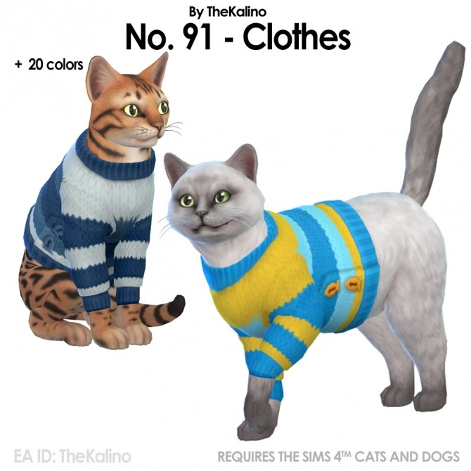 Sims 4 No.90 and 91 from the Knitting Stuff Pack Vote at Kalino