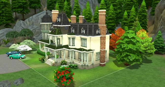 Locke & Keys manor by valbreizh at Mod The Sims image 1482 670x353 Sims 4 Updates