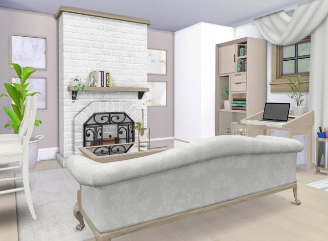 The Compact Craftsman house at SimPlistic image 1489 670x492 Sims 4 Updates