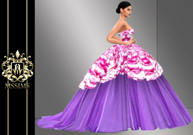 Sims 4 FALL 2010 GOWN (P) at MSSIMS