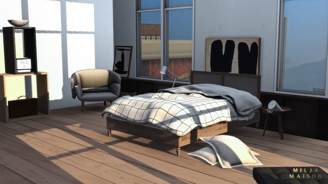The Ecceentric Art apartment at Milja Maison image 14914 670x377 Sims 4 Updates