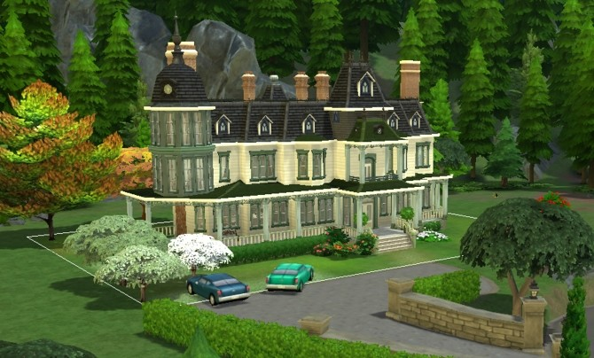 Locke & Keys manor by valbreizh at Mod The Sims image 1492 670x404 Sims 4 Updates