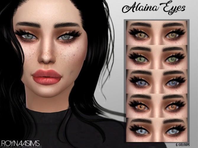 Sims 4 Alaina Eyes by Roynaa at TSR