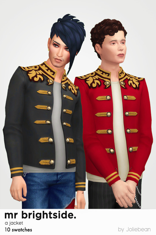 Mr Brightside jacket at Joliebean image 15014 Sims 4 Updates