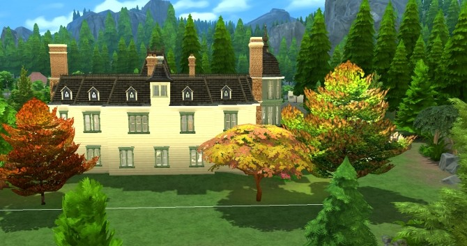 Locke & Keys manor by valbreizh at Mod The Sims image 1502 670x353 Sims 4 Updates