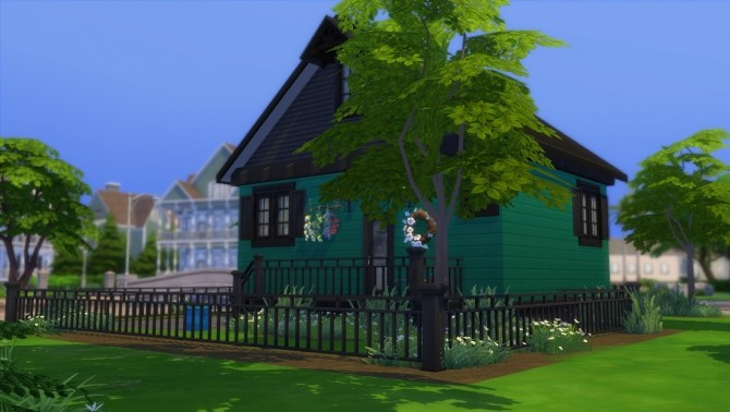 Sims 4 Cottage Craftsman NO CC by zhepomme at Mod The Sims
