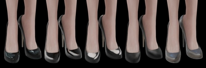 HIGH EVENING SHOES at Magic bot image 15118 670x222 Sims 4 Updates