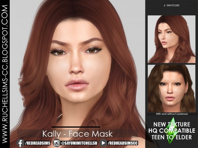 Kally Face Mask at Ruchell Sims image 15120 670x503 Sims 4 Updates
